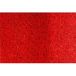 Kırmızı çim halı