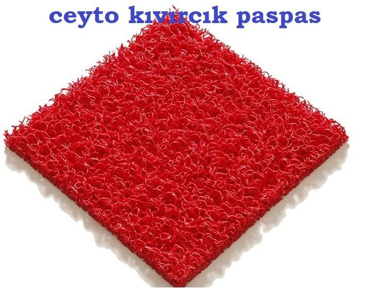 plastik kıvırcık paspas